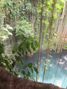 Cenote near Chichen