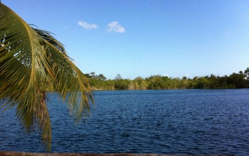 Blue cenote, Bacalar