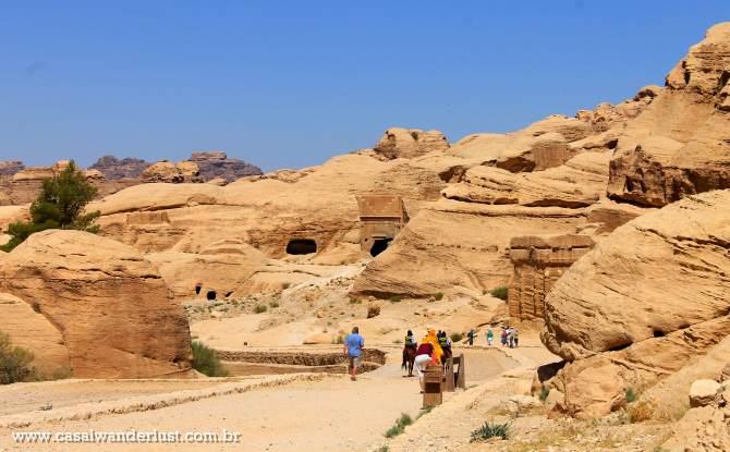 Chegada a Petra