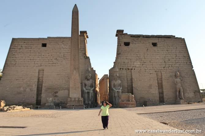 Entrada Templo de Luxor