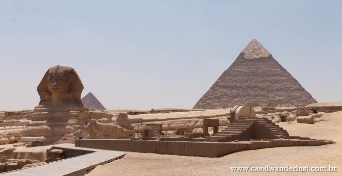 Como visitar as Pirâmides