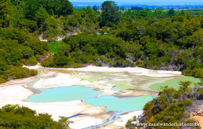 Panoramic View Wai o Tapu