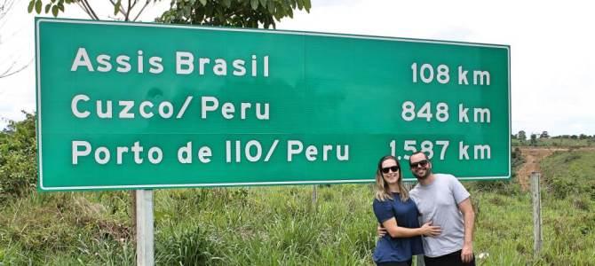Uma viagem de carro de Porto Velho até Cusco