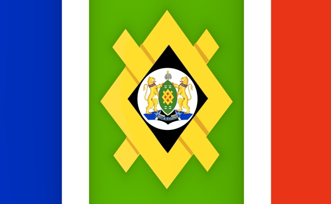 Bandeira de Joanesburgo