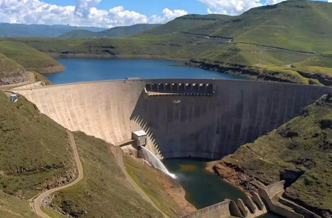 Katse Dam Lesoto