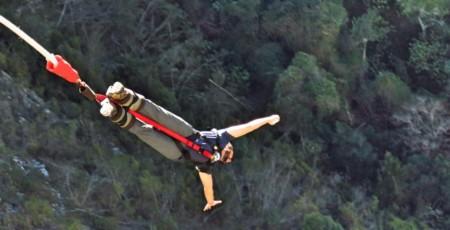 Salto de Bungy Jump em Cape Town