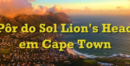 Trilha para subir a Lion's Head, em Cape Town