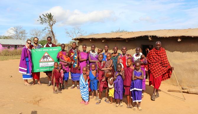 Tribo Masai na Tanzânia