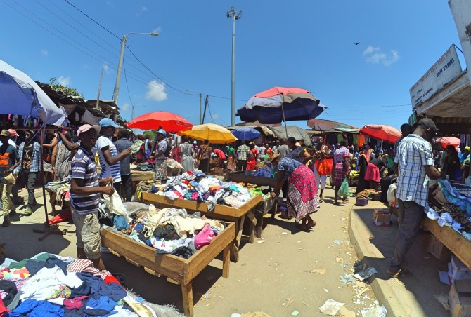 Kongowea Market em Mombaça