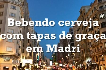 Roteiro de cervejas e tapas em Madri