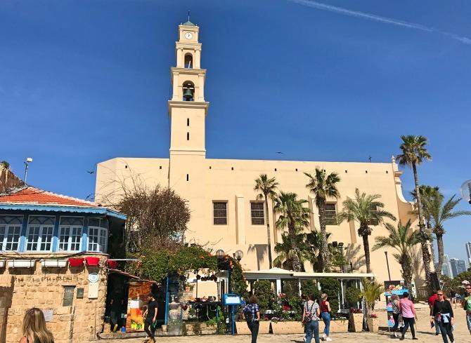 Igreja de São Pedro em Tel Aviv