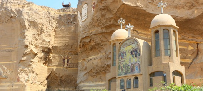 Cave Church e a Cidade do Lixo, no Cairo