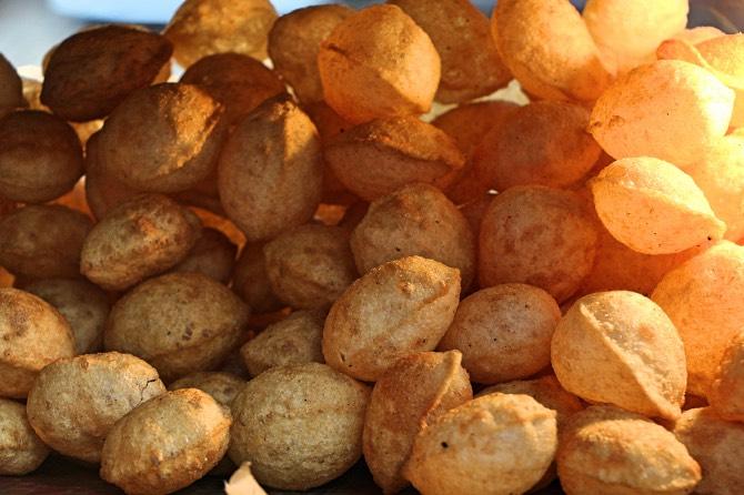 comidas de rua da Índia