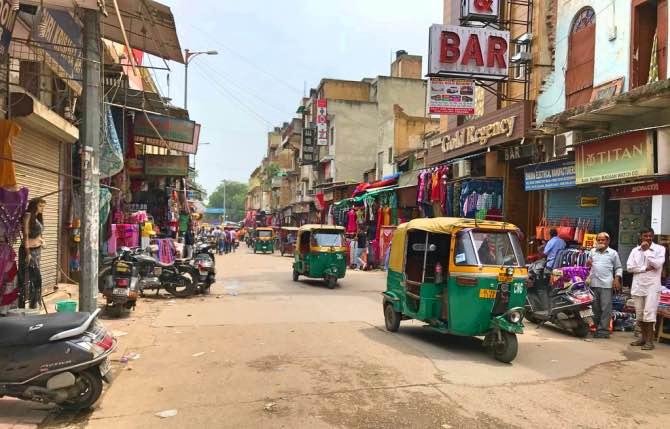 Main Bazaar New Delhi