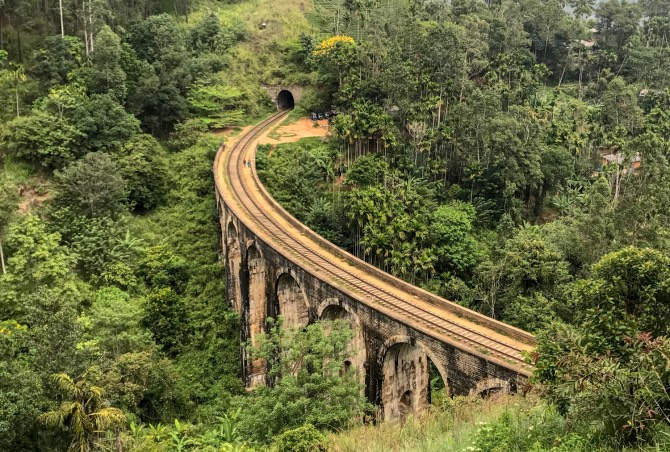 Nine Arches Bridge, em Ella, sri lanka