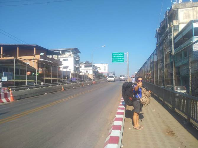 como ir da Tailândia para o Myanmar