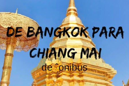 Como ir de Bangkok para Chiang Mai, de ônibus