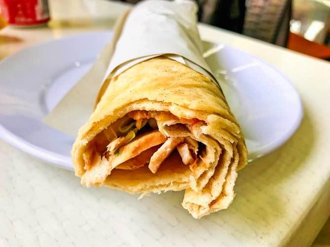 Comidas típicas da Turquia Kebab