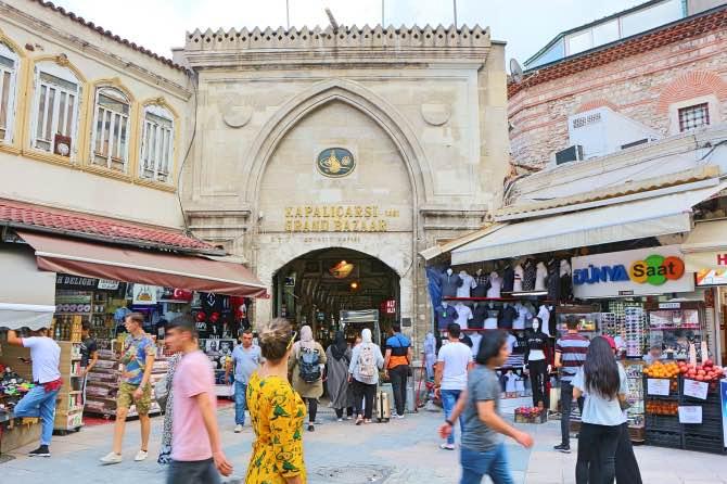 o que fazer em istambul grand bazaar em istambul