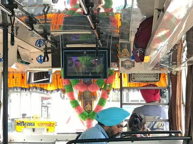 Como ir de dharamshala para amritsar onibus