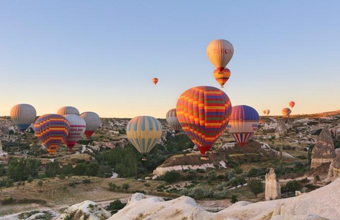 o que fazer na capadócia voo de balão
