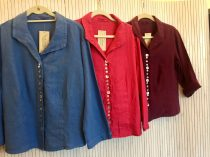 Square Button Shirt £110 (in various colours)