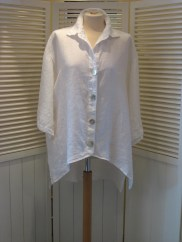 O/S Linen Shirt, £89 last one reduced to £53.50!