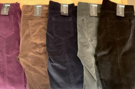 From the Left: Purple, Dark Brown, Navy, Green & Black £69
