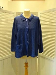 Aretha Medium Jacket in Iris, £169