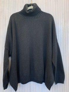 Zuri 100% cotton Polo Charcoal £110