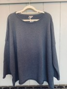 Cersei Cotton Sweater One Size £115 Navy