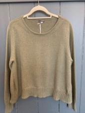 Amori Cotton sweater One Size £105 Oatmeal