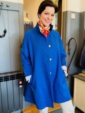 Teresa coat in Royal Blue £180