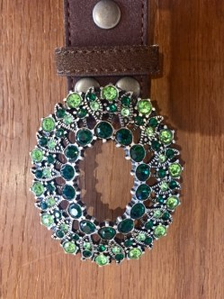 Emerald Buckle & Belt £89