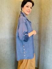 Cotton Stripe Shirt £59 One Size