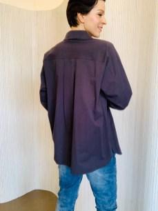 Cotton oversized shirt £75