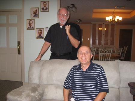 Rev. Tim Eden (Hale Malia, Honolulu) and Brother Roger Bau (Querétaro, Mexico)