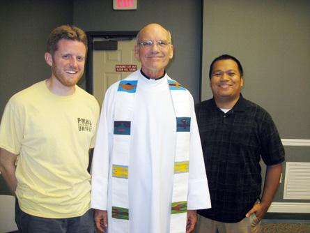 Bob Jones, Cris Janson and Norman Capinpin