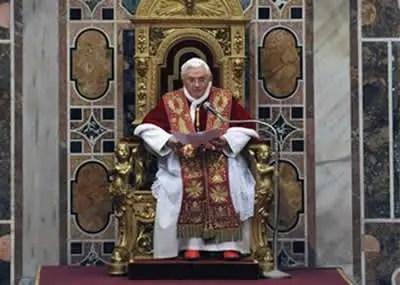 Papa Condena o Casamento Gay