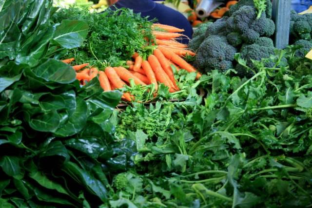 San Teodoro Market winter produce