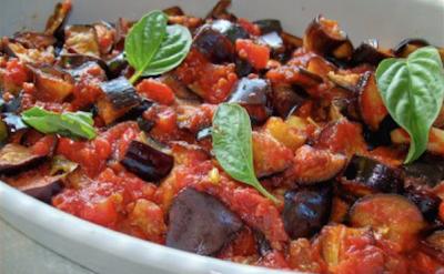 Melanzane a funghetto an Amalfi specialty