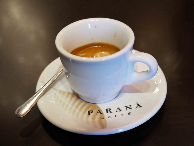 Paranà coffee in Rome