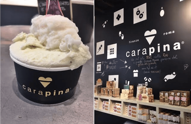 Gelateria Carapina in Rome