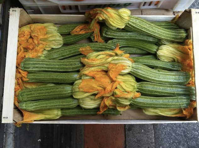 vegetables we shouldn't be peeling: zucchini
