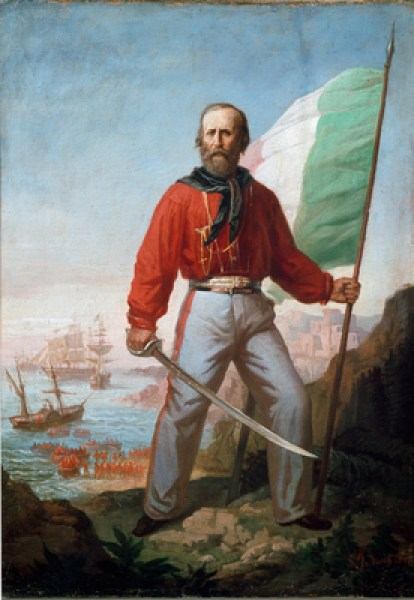 Giuseppe Garibaldi (1807-1882) in Sicily