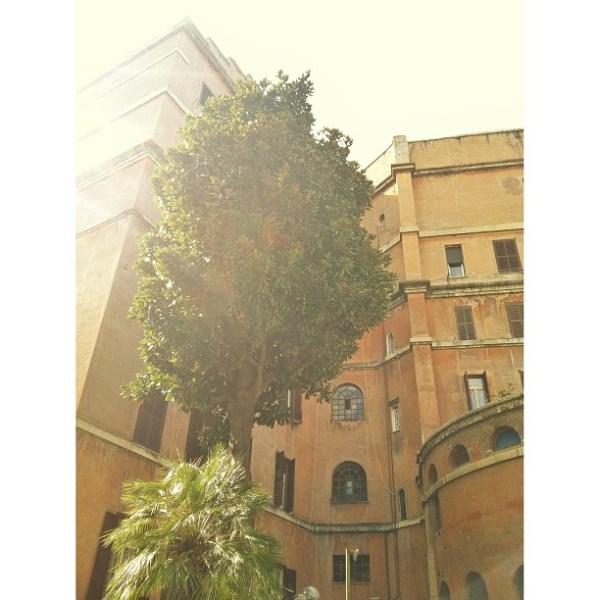 Garbatella neighborhood in Rome