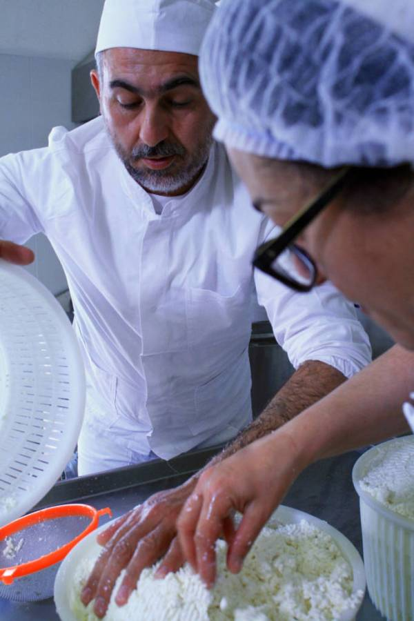 Farm life: cheese making in Lazio — www.italyfoodandwinetours.com