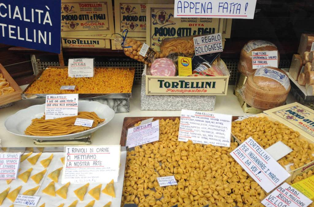 Where to find the best tortellini in Bologna