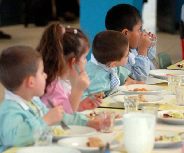 Italian school lunch