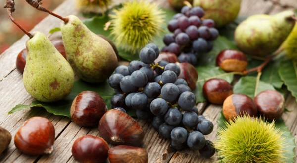 Eating seasonally: autumn fruits